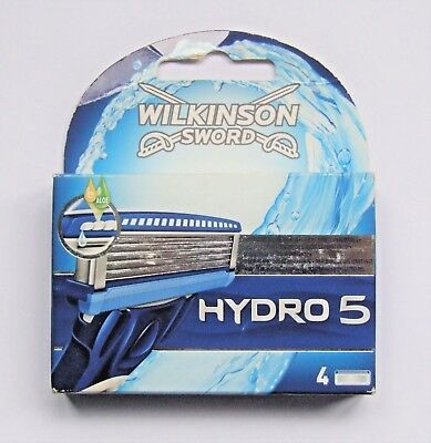 Wilkinsons Sword Hydro 5 Men's Razor Blades 4 Pack (Refills) Genuine