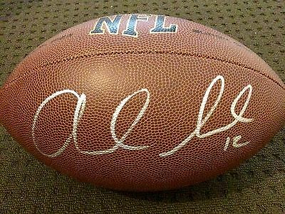 Andrew Luck Indianapolis Colts NFL Hand Signed Football FS COA GA