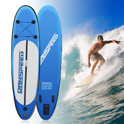 SUP Board Stand Up Paddle Surf-Board aufblasbar inkl. Paddel ISUP Paddling