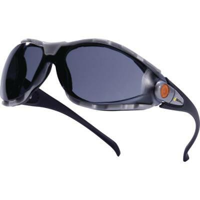 4c3707163c7 Delta Plus PACAYA Safety Work Specs   Glasses Smoke Single Lens Spectacles