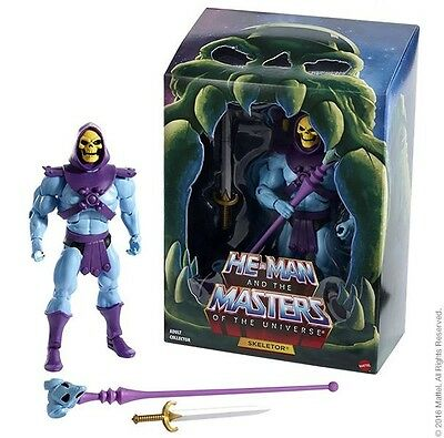 Auspacker# Skeletor 2.0 Filmation Club Grayskull MOTU Masters Universe Classics