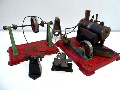 Vintage Mamod Stationary Steam Engine & Accessories