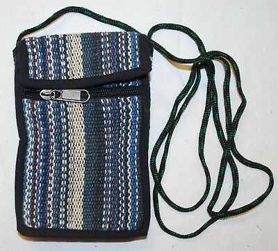 Hippy Hippie Ethical Ethnic Festival New Fair Trade Cotton Mini Bag