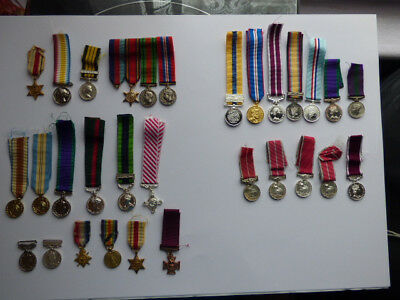 Miscellaneous Collection of Miniature Medals