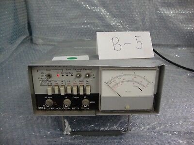 Marconi AM/FM Modulation Meter TF 2304 for part only