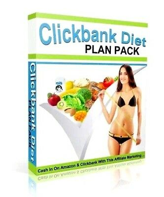 New Clickbank Diet Plans Pack/E-book in pdf + With Resell Rights + Free Shipping