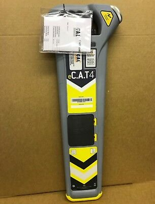 Radiodetection eCAT 4 C.A.T Cable Locator 12 Month Warranty & Cert
