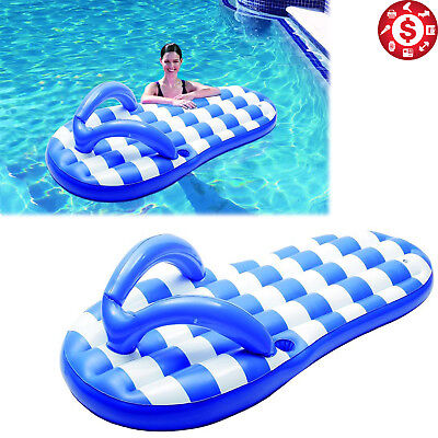 adf0e42496a Flip Flop Inflatable Pool Float Large 71