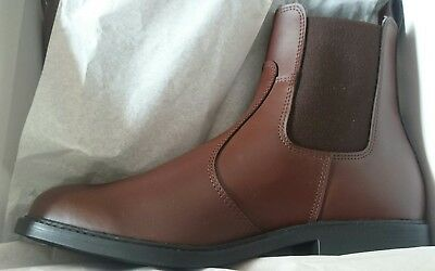 Derby House Classic Pull On Womens Boots Jodhpur - Size 7