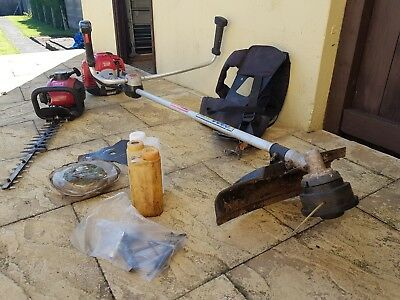 Mountfield strimmer and hedge cutter with extras