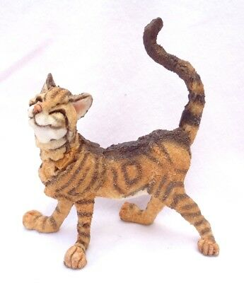 """A BREED APART CAT. authentic retired. """"DANDY"""" Border Fine Arts .TABBY  AB 70326."""