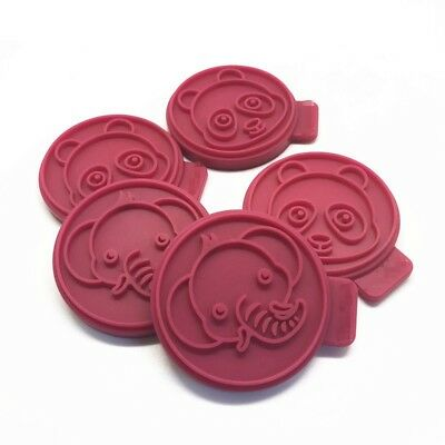 Silicone Hand Press Stamp Cookie Cutter Mould Animal Biscuit Fondant CookiesMold