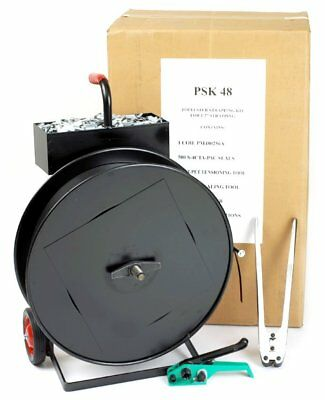 """PAC Strapping PSK58 Extra Heavy Duty 5/8"""" Polyester Strapping Kit"""