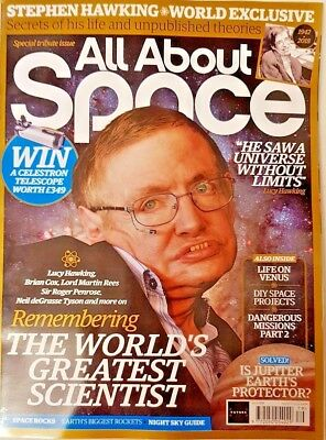 All About Space Magazine = Special Tribute Issue = #079 = Stephen Hawking