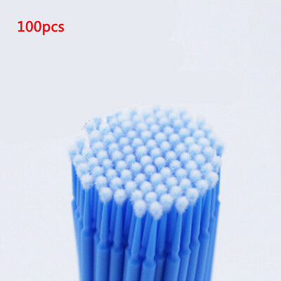 100Pcs Touch Up Paint Micro Mini Brush Large / Small Tips - Micro Applicators