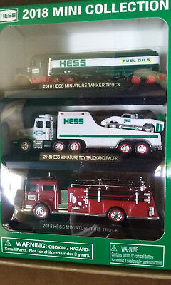 2018 HESS Mini Truck Collection Brand New