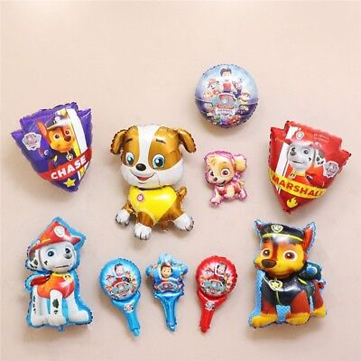 Animal cute chase Foil Balloons Kids Birthday Party Decoration Favor Toys gift
