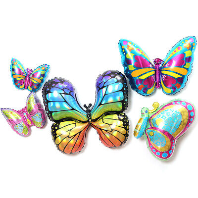 Butterfly Insect Bee Coccinella Snail Foil Balloon Birthday Party Decor Kids toy