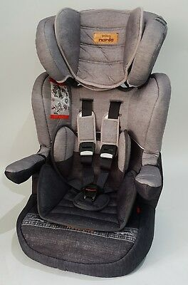 Nania I-Max Group 1/2/3 9 to 36kg Baby Child Car Seat Booster Denim