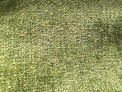 Mobus ' Waterford ' Olive ( Green ) Chenille  Upholstery Fabric £7.99 Per Metre