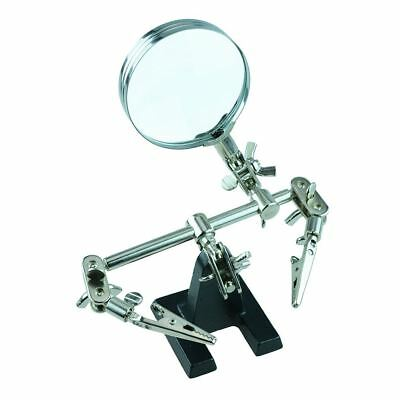 Helping Hands with Magnifier Soldering Tool