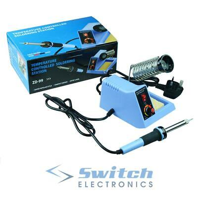48W Temperature Adjustable Soldering Iron Station and Stand Solder Tool