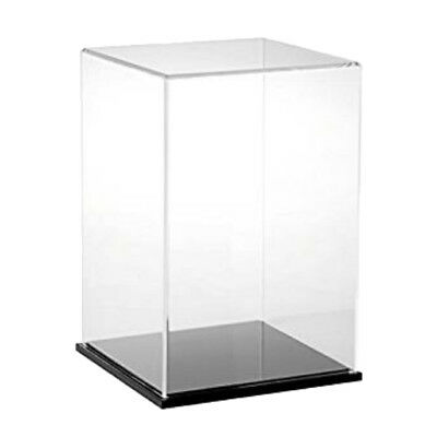 10/12/15/30cm Height Acrylic Display Case Dustproof Box Cube for Jewelry Show