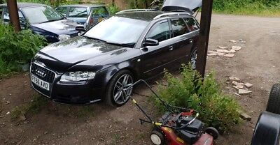 GREY Audi a4 2.0tdi  b7 avant s line COLOUR LZ7L spares parts have been removed
