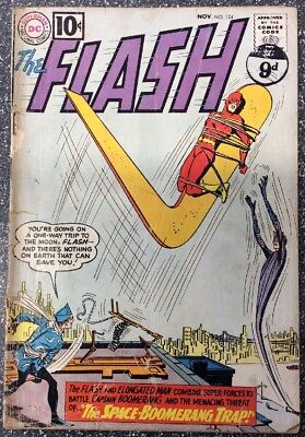 The Flash #124 (1961) Silver Age Issue
