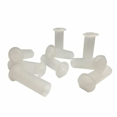 5 x Natural Clear Drill Weep Vents Round Vent Cavity, Retaining, Rendered Walls