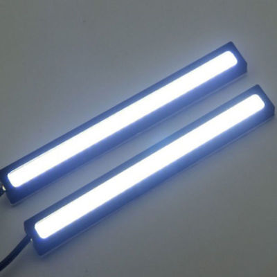 10X 12V Waterproof DRL LED Strip Lights Bars Camping Caravan Boat Car COB 6000K