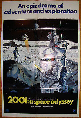 2001: A Space Odyssey-S.Kubrick-Sci-fi-Art by McCall-OS Style B (27x41 inch)