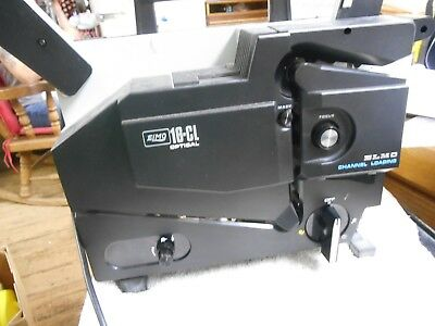 ELMO 16-CL optical projector ,16 mm slot load excellent working condition