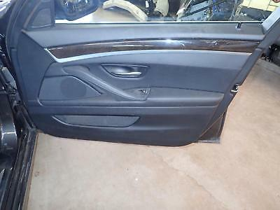 11 12 13 14 15 16 BMW 528i: Right Front Door Trim Panel, Leather: Black LCSW