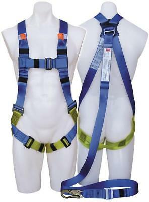 First Three Point Fall Arrest Harness with Intergrated Lanyard
