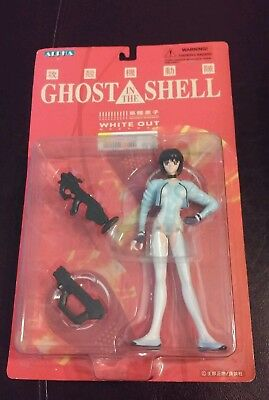 """New Ghost In The Shell White Out Figure 6 1/2"""" Motoko Kusanagi Alpha"""