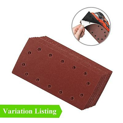 Hook and Loop 1/2 Punched Sanding Sheets, 115 x 230mm Sandpaper Pads
