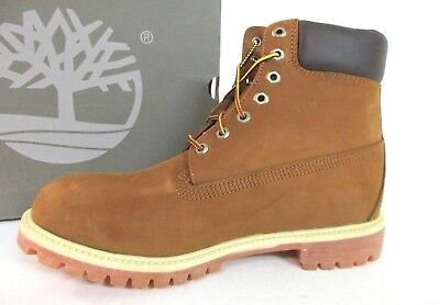 bd9e99864200 Timberland Men s 6 inch Premium Waterproof Boot Rust Nubuck TB072066 SHOES