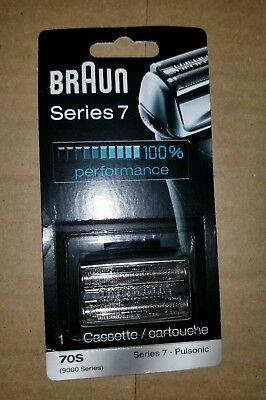 NEW Braun Series 7 70S 9000 Series Foil Shaver Replacement Head