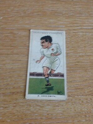 Rare Cigarette Card Men Of The Moment In Sport No 45 R Smith Churchman M489