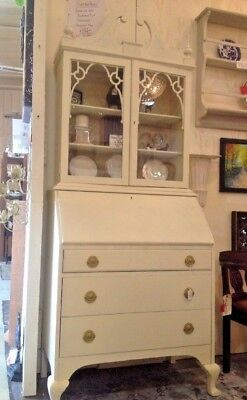 Antique Secretary Desk Hutch NEW LOWER PRICE! SALE! -  PICK UP ONLY ROSWELL GA!