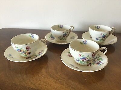 Vintage J & G Meakin Sol Cups And Saucers
