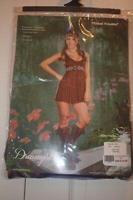 Dreamgirl Tribal Indian Halloween Party Costume Women's Size Medium