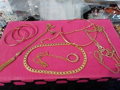 lot of jewerly vintage to new--