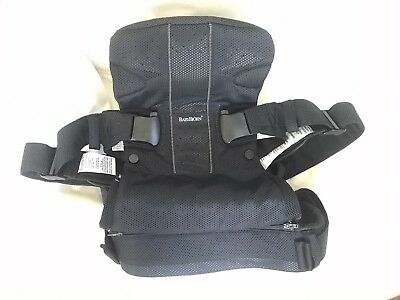 BabyBjorn Baby Carrier One Air Original Black Mesh - Barely Used! Organic!