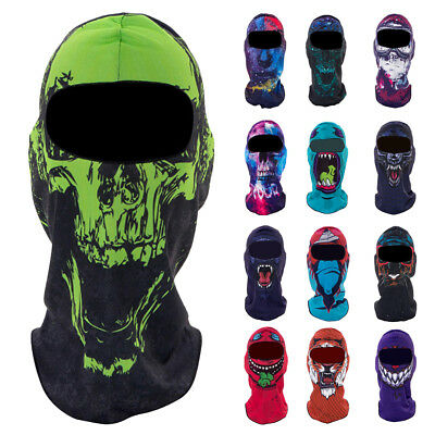 Outdoor Cycling Balaclava Snowboarding Cap Sun Wind Proof Hat Full Face Mask