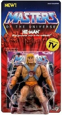 HE MAN Neo Vintage Collection SUPER7 NEW WAVE MOTU CLASSICS Masters Universe