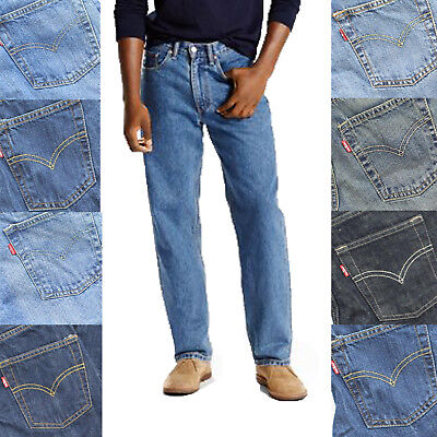 Levi's Boy's Youth 550 Slim Fit Five Pocket Style Cotton Denim Jeans Pants