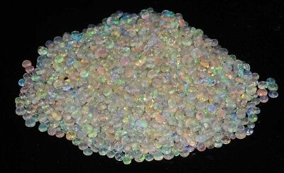 1Pcs 4 MM Natural Ethiopian Opal Beads Fire Opal Drilled Loose Gemstone F0010