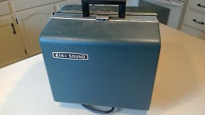Vintage Eiki 16mm Sound Projector RT-0  used Condition Bulb Works
